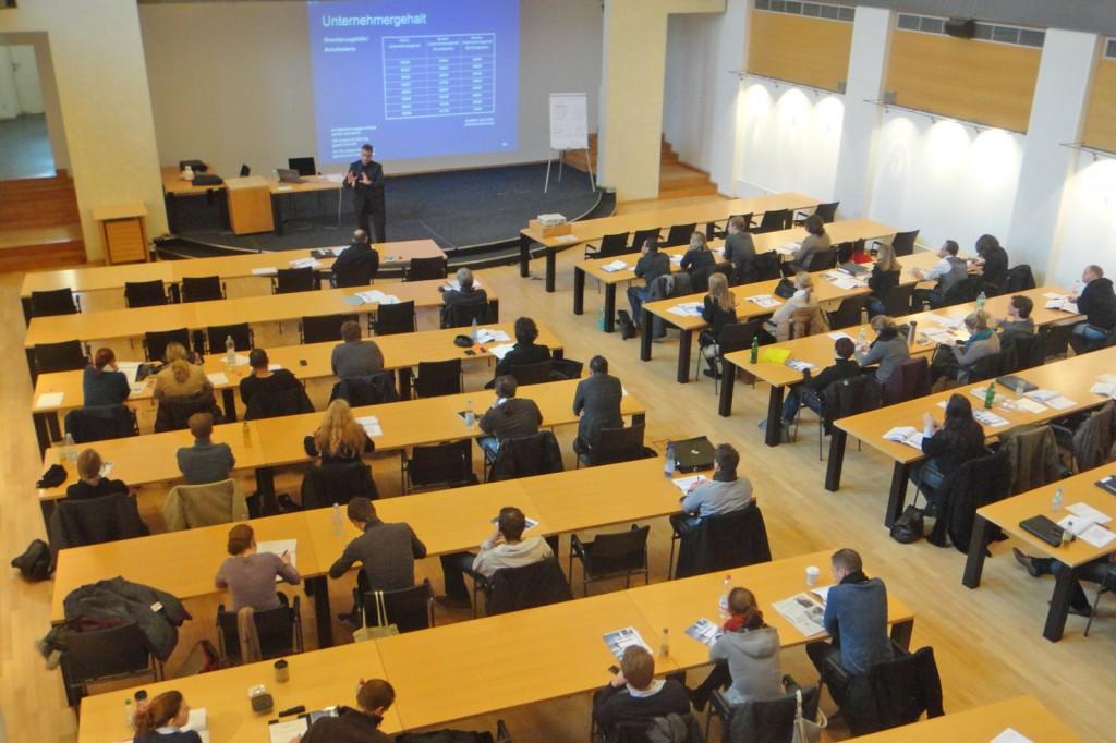 Absolventenseminar TZU Oberhausen Unternehmergehalt