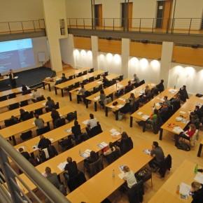 Absolventenseminare im TZU Technologiezentrum Umweltschutz in Oberhausen Januar 2012